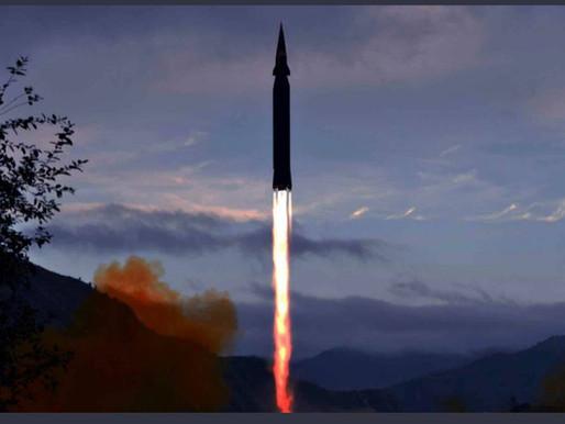 South Korean General Staff: North Korean Hwaseong-8 missile is under development