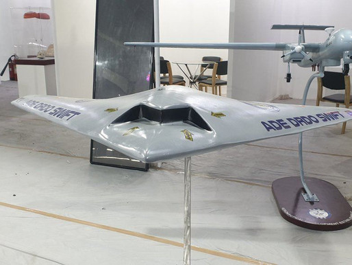 Indian DRDO initiates testing of advanced SWiFT stealth drone