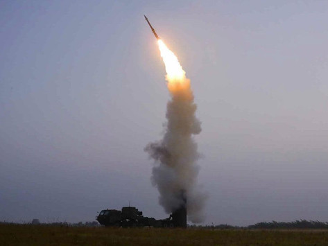 North Korea test-fires anti-aircraft missile in 4th weapons launch this month