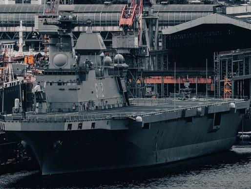 🇰🇷Second South Korean universal amphibious assault ship (UDC) LPH 6112 Marado.