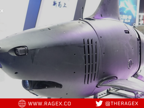 New Chinese Military (Shark Drone)