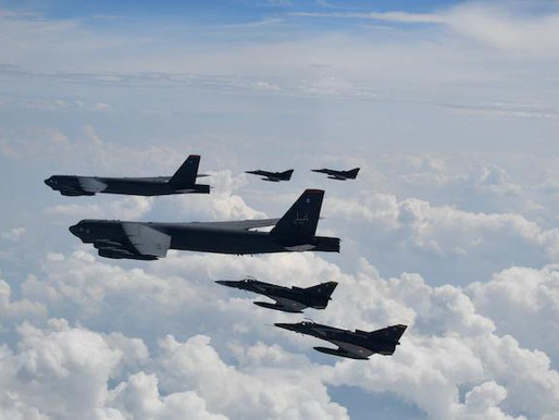 US B-52H trains with Colombian Air Force, Ecuadorian Navy