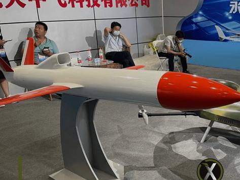 China showcased land, sea and air combat robots
