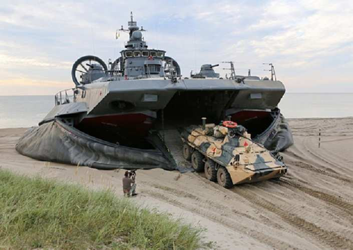 """The Russian Navy will receive amphibious """"all-terrain ships"""""""