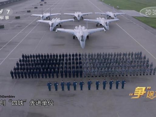 Complex simulator of the Su-35 (KTS-35) fighter in China