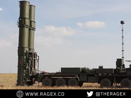 "S-500 anti-aircraft missile system ""PROMETHEUS"""