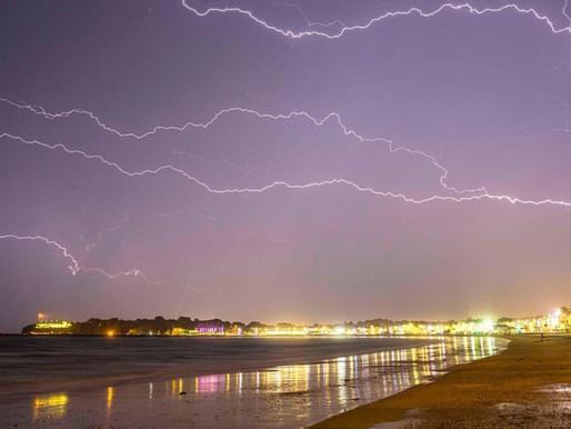 UK Storm Chaos! Lightning Blasts Through Roof, Sinkholes & Flash Floods after Heatwave turns DEADLY