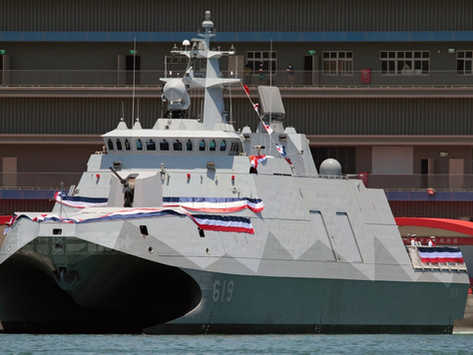 The new corvette of the Taiwanese Navy will be equipped with ship-based anti-aircraft missiles