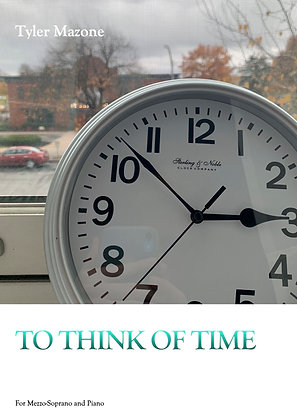 To Think of Time