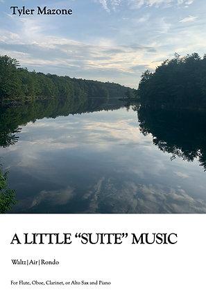 """A Little """"Suite"""" Music- Flute"""