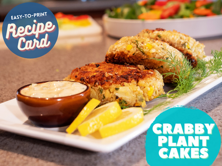 Recipe Card - Crabby Plant Cakes