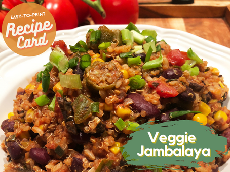 Recipe Card - Veggie Jambalaya