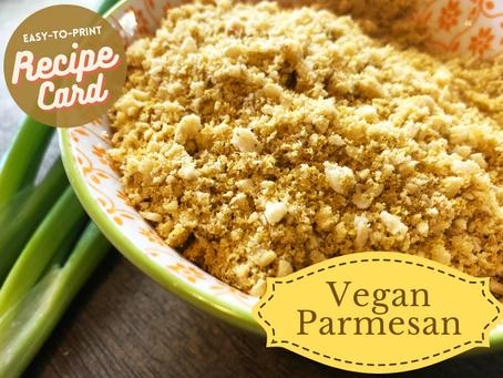 Recipe Card - Vegan Parmesan