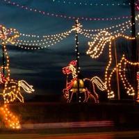 Christmas Light's Tours Limo in Alpharetta