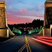Atlanta Holiday Light Display Tours