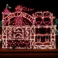 Christmas Light's Tours Limo in North Georgia