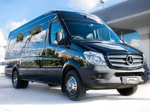 Our New Mercedes Sprinter Bus Limo