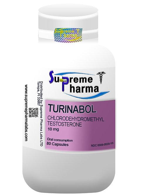 TURINABOL 10mg (80Caps)