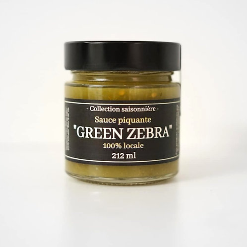Sauce piquante GREEN ZEBRA
