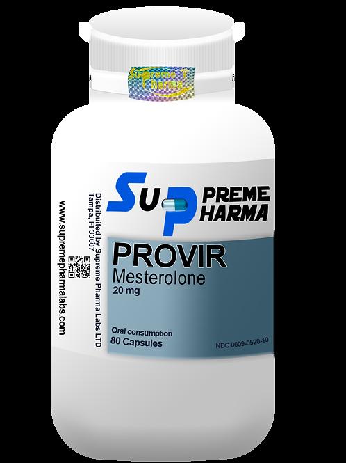 PROVIR MESTEROLONE 20mg (80Caps)p