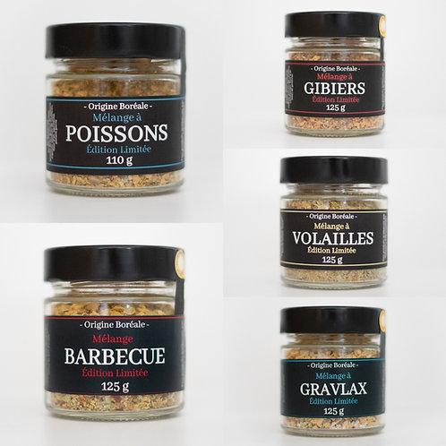 """Les 8 produits """"Origine Boréale"""""""