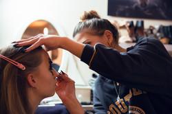 Meine Meine Makeup Künstlerin Mala
