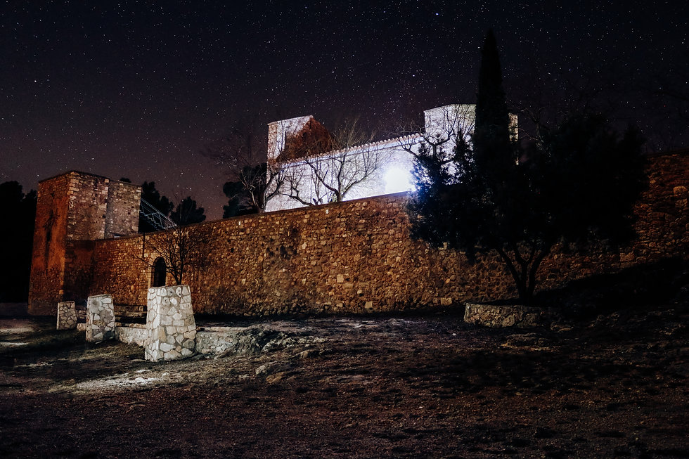 Santuari de Foix night stars