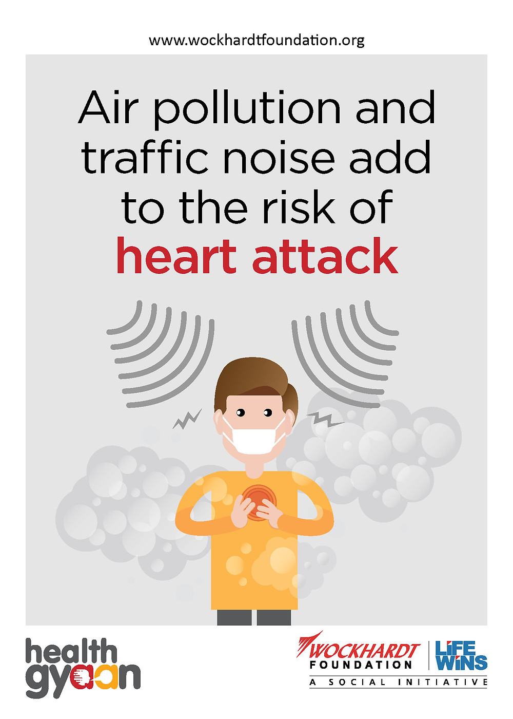Pollution provokes heart attack