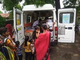 Mobile 1000 Van operating in Rajkot, Guj