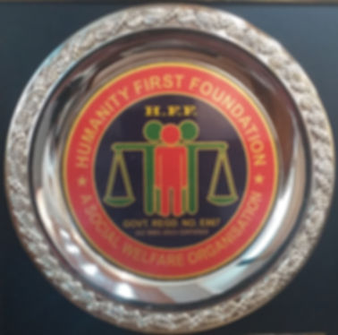 Humanity First Foundation Excellence Award