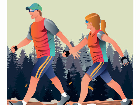 Even a 10-min walk is good for the brain
