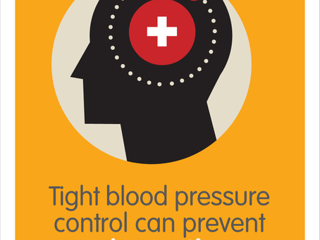 Tight blood pressure control can prevent dementia