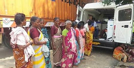 Women beneficiaries of the Mobile 1000 V