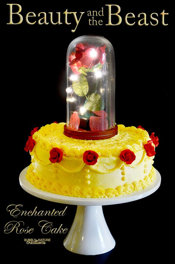 tarta bella y bestia, pasteles para cumpleaños, tarta de bella y bestia, pasteles originales para cumpleaños