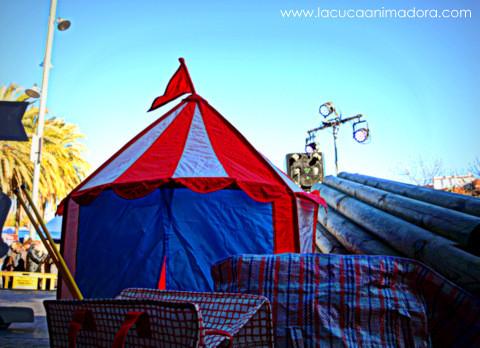 carpa circo ikea, ikea niños, plegar circo ikea, carpa de circo infantil, show de payasos, payasos en barcelona, la cuca animadora, show infantil, payasos para cumpleaños, fiestas infantiles, circus party ideas, espectaculo infantil, show infantil circo, decoracion circo