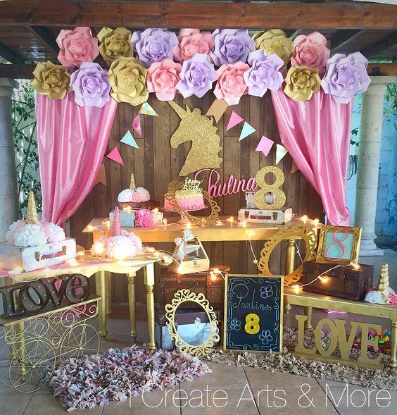 articulos fiesta unicornio, fiesta unicornio niña, fiesta de cumpleaños de unicornios, imprimibles unicornio, cumpleaños unicornio, photocall unicornio, globos de unicornio, adornos fiesta unicornio