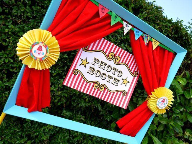 ideas photocall circo, fiesta cumpleaños circo, decoracion tematica circo, photocall circo, fiestas infantiles, festes infantils, festa de tematica circ, pallassos, festa infantil, marco para fotos