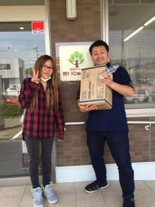支援物資ありがとうございます!(熊本市北区四方寄町1672-2)