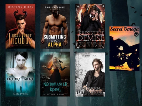 The Signed Paranormal Romance Giveaway