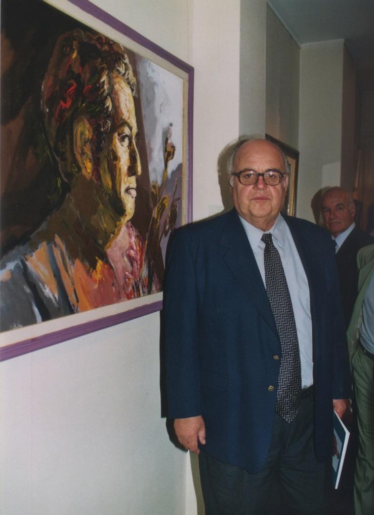 L. Greco y su retrato de RS