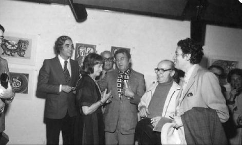 Rafael Squirru, Carlos Alonso, Raquel Forner, Kossice, Antonio Berni