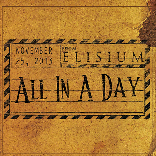 All In A Day (Physical CD)