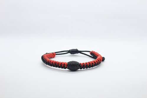 BlackNRed Snake Oval