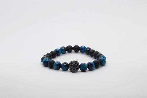 Cobalt Blue Skull II