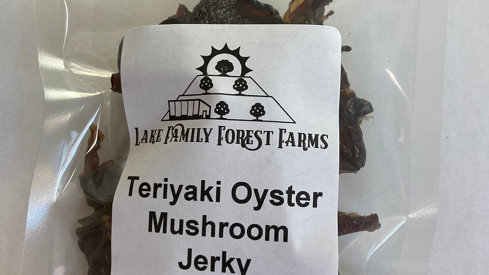 Teriyaki  Oyster Mushroom Jerky