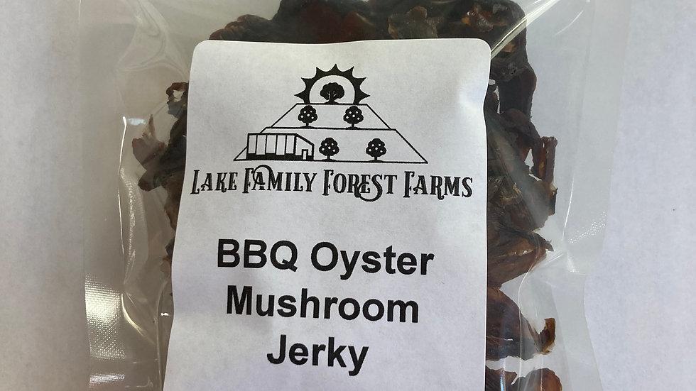 BBQ Oyster Mushroom Jerky