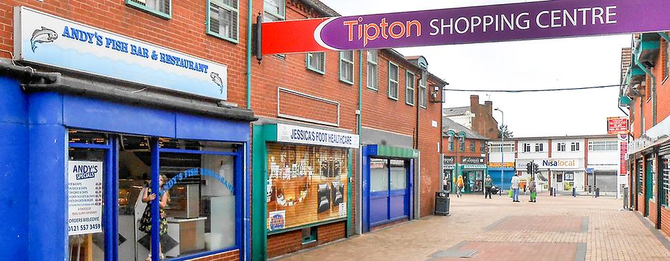 Tipton Shopping Centre