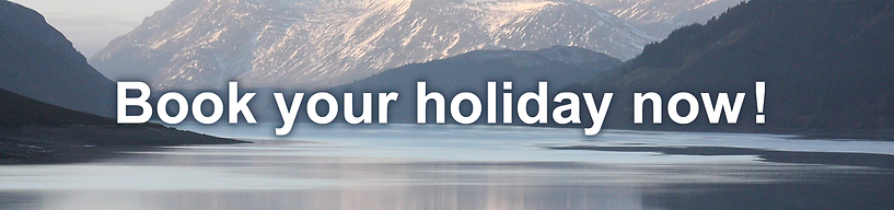 Book Your Holiday Now!