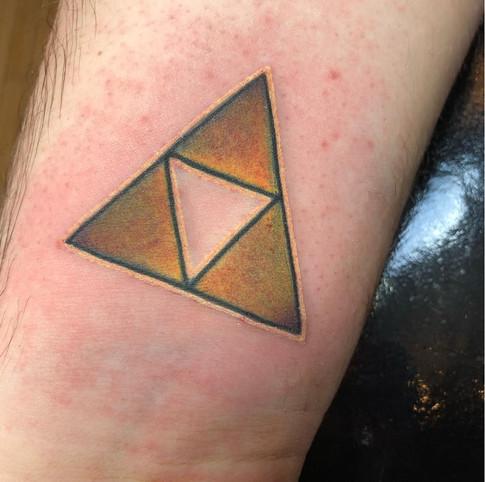 Zelda tattoo - Tri-Force