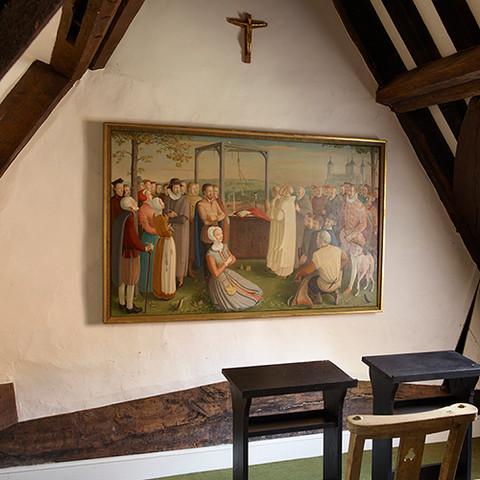 The chapel at Stonor